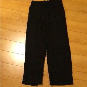 Straight leg, linen Old Navy pants
